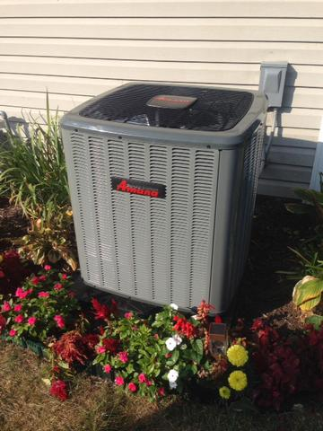 Amana 16 SEER central air with lifetime warranty